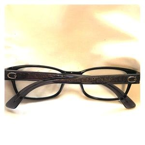 Guess Eyeglass frame only Beautiful Gray